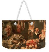 The Butcher's Shop Weekender Tote Bag