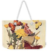 The Butterfly Book Weekender Tote Bag