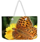 The Butterfly Effect Weekender Tote Bag
