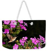 The Butterfly Garden At Night Weekender Tote Bag