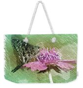 The Butterfly Visitor Weekender Tote Bag