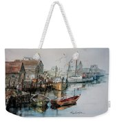 The B'y That Catches The Fish Weekender Tote Bag by Hanne Lore Koehler