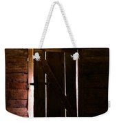 The Cabin Door Weekender Tote Bag by David Lee Thompson