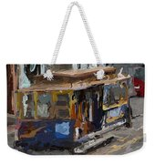 The Cable Car Weekender Tote Bag