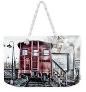 The Caboose Weekender Tote Bag by Bill Cannon