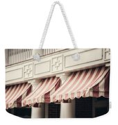 The Cafe Awnings At Chautauqua Institution New York  Weekender Tote Bag