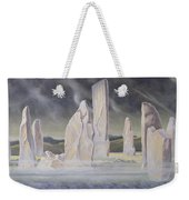The Callanish Legend Isle Of Lewis Weekender Tote Bag