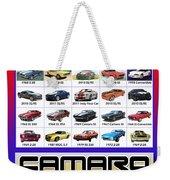 The Camaro Poster Weekender Tote Bag