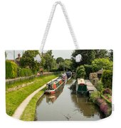 The  Trent And Mersey Canal At Alrewas Weekender Tote Bag