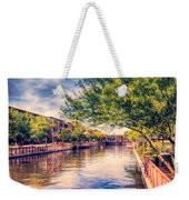 The Canal In Downtown Scottsdale Weekender Tote Bag