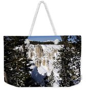The Canyon In Winter Weekender Tote Bag
