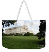 The Capitol Hill View Washington Dc Weekender Tote Bag