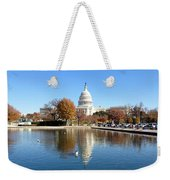 The Capitol In Fall Weekender Tote Bag