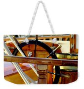The Captain's Wheel Weekender Tote Bag