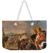 The Capture Of Carthage Weekender Tote Bag