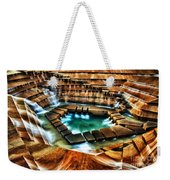 The Cascading Falls - Fort Worth Water Garden  Weekender Tote Bag