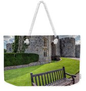 The Castle Bench Weekender Tote Bag