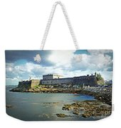 The Castle Fort On The Harbor Weekender Tote Bag