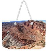 The Castle In Capitol Reef Np Weekender Tote Bag