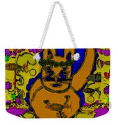 The Cat And His Fish Popart Weekender Tote Bag