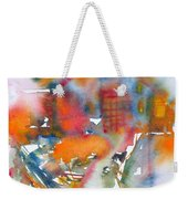 The Cat Getting Back Home Weekender Tote Bag