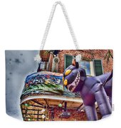 The Cat Is Out Of The Hat Weekender Tote Bag