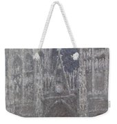 The Cathedral In Rouen Weekender Tote Bag