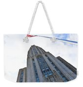 The Cathedral Of Learning 4 Weekender Tote Bag