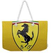 The Cavallino Rampante Symbol Of Ferrari Weekender Tote Bag