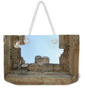 The Ceiling Of The Tetrapylon Aphrodisias Weekender Tote Bag by Tracey Harrington-Simpson