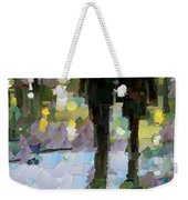 The Champs Elyseee After The Rain Weekender Tote Bag