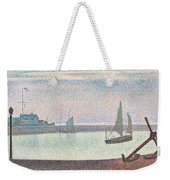 The Channel At Gravelines In The Evening Weekender Tote Bag