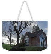 The Chapel At Eagle Point National Cemetery Weekender Tote Bag