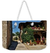 The Charming Patio Weekender Tote Bag