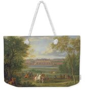 The Chateau Of Saint Germain Oil On Canvas Weekender Tote Bag