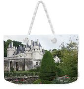 The Chateau's Towers View Weekender Tote Bag