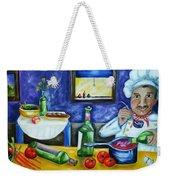 The Chef Weekender Tote Bag