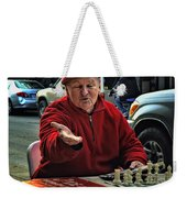 The Chess King Jude Acers Of The French Quarter Weekender Tote Bag