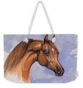 The Chestnut Arabian Horse 1 Weekender Tote Bag