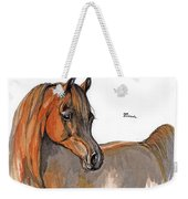 The Chestnut Arabian Horse 2a Weekender Tote Bag