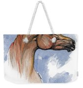 The Chestnut Arabian Horse 4 Weekender Tote Bag