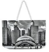 The Chicago Bean II Weekender Tote Bag