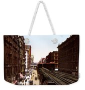 The Chicago El Weekender Tote Bag