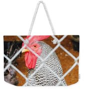 The Chicken Fence Weekender Tote Bag