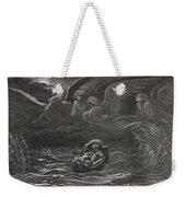 The Child Moses On The Nile Weekender Tote Bag