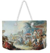 The Chinese Fair, C.1742 Oil On Canvas Weekender Tote Bag