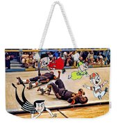 The Chipmunks Skating Roller Derby Weekender Tote Bag
