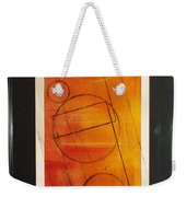 The Choice To Act Or Let Be Weekender Tote Bag by Yael VanGruber