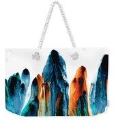The Chosen Ones - Emotive Abstract Painting Weekender Tote Bag