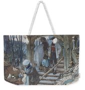 The Christening Gate In Lausanne, C.1861 Weekender Tote Bag by Matthijs Maris